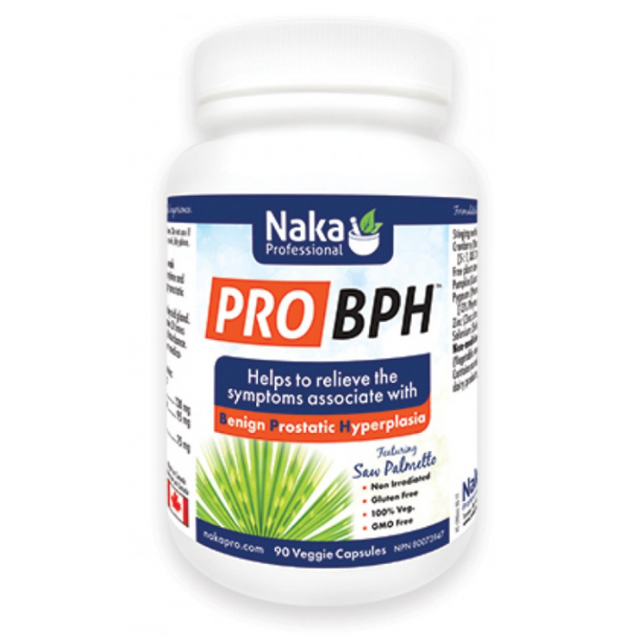 Pro BPH with Saw Palmetto 90 Capsules Naka