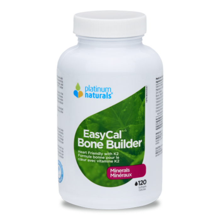 EasyCal Bone Builder Minerals 120 Softgels Platinum Naturals