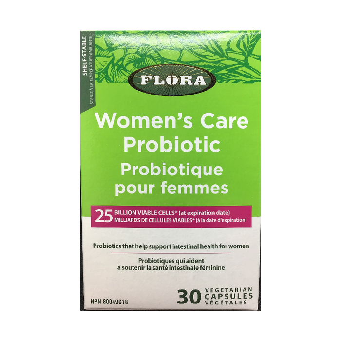 Women's Care Probiotic 30 Capsules Flora
