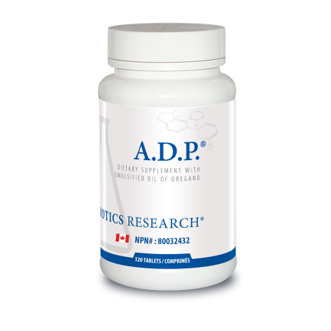 A.D.P. (Anti-Dysbiosis Product) 60 Tablets Biotics Research Canada