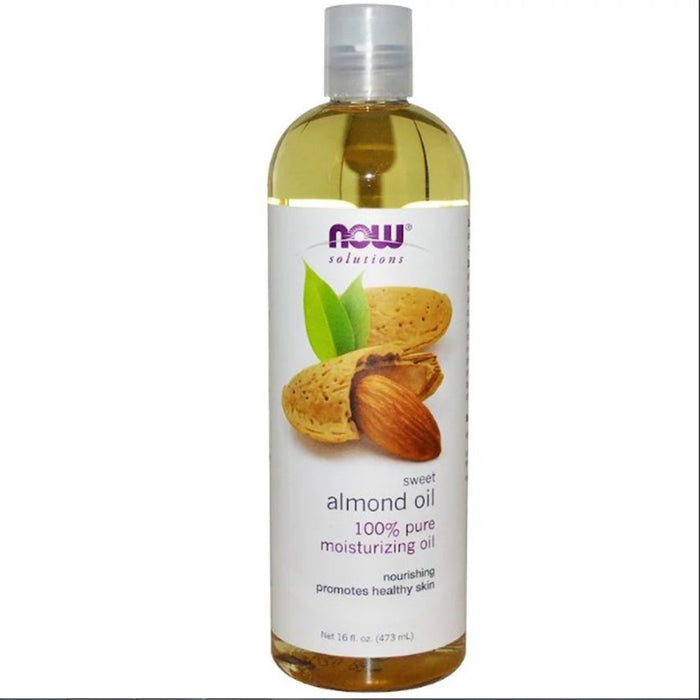 Sweet Almond Oil 100% Pure Now Foods