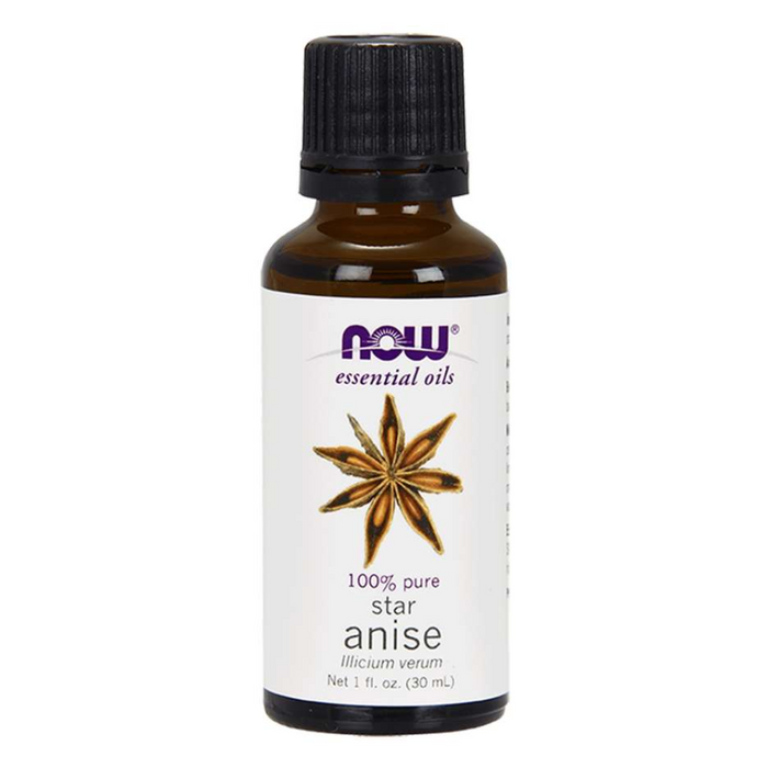 Anise 100% Pure Essential Oil 30ml Now Foods