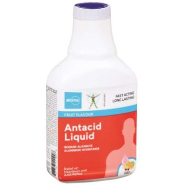 Atoma Antacid Liquid 600ml Fruit Flavour