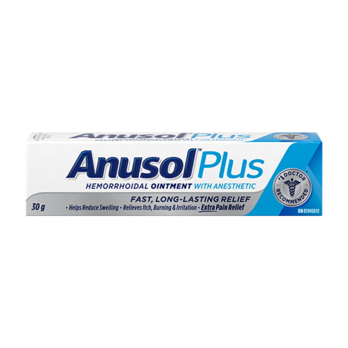 Anusol Plus Hemorrhoidal Ointment 30g