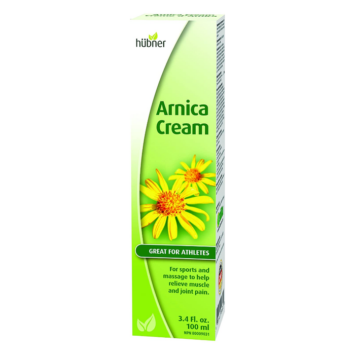 Arnica Cream for Pain Relief 100ml Hubner