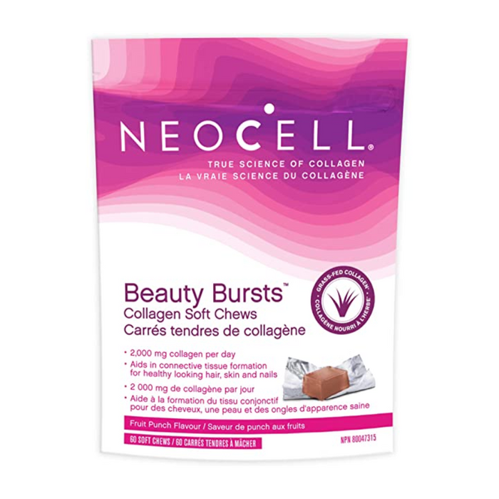 Beauty Bursts Collagen Soft Chews Fruit Punch Flavour NeoCell