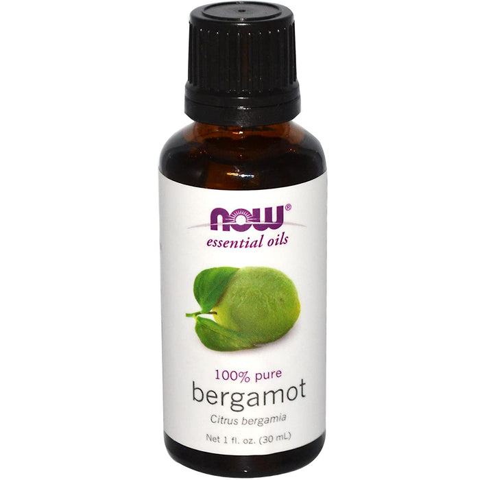 Bergamot 100% Pure Essential Oil 30ml Now Foods
