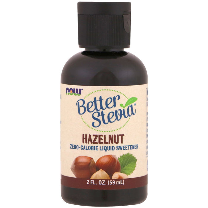 Better Stevia Liquid Flavoured Stevia Extract Now Foods