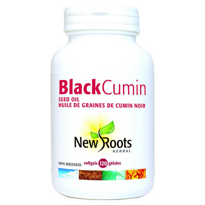 Black Cumin Seed Oil 500mg Softgels New Roots Herbal