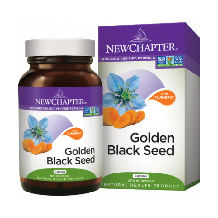 Golden Black Seed Capsules New Chapter