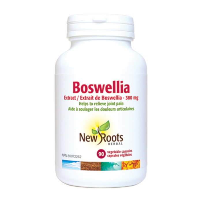 Boswellia Extract 380mg 90 Capsules New Roots Herbal