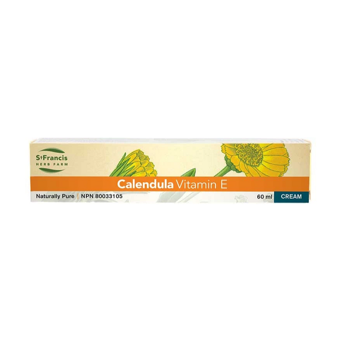 Calendula Vitamin E Cream 60ml St. Francis Herb Farms