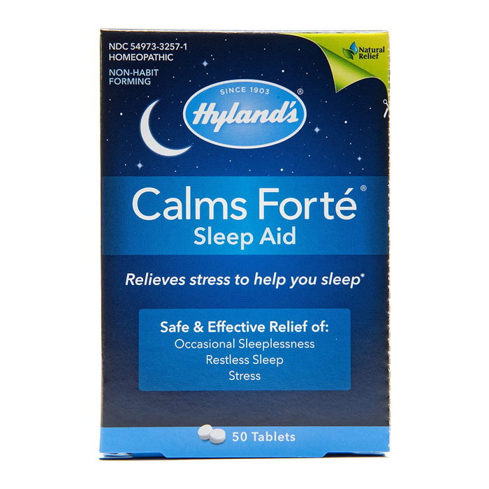 Hyland's Calms Forte Homeopathic Sleep Aid 50 Tablets