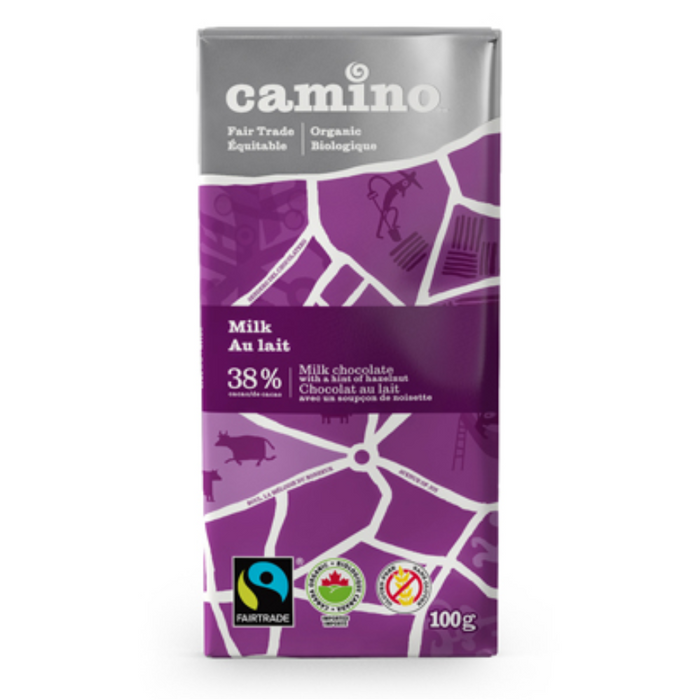 Milk Chocolate Bar Camino