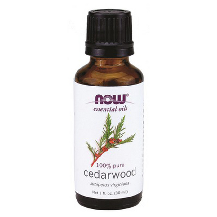 Cedarwood 100% Pure Essential Oil 30ml Now Foods