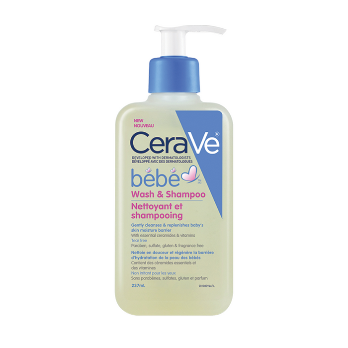 CeraVe Baby Wash & Shampoo 237ml