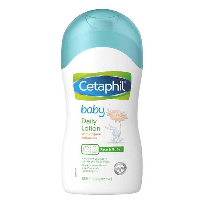 Cetaphil Baby Daily Lotion with Organic Calendula 400ml