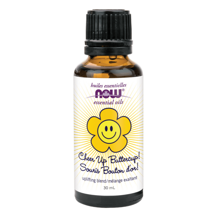 Cheer Up Buttercup Essential Oil Blend 30ml Now Foods