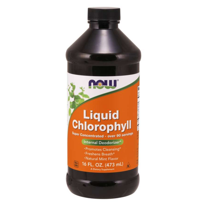 Liquid Chlorophyll Super Concentrated 473ml Now Foods
