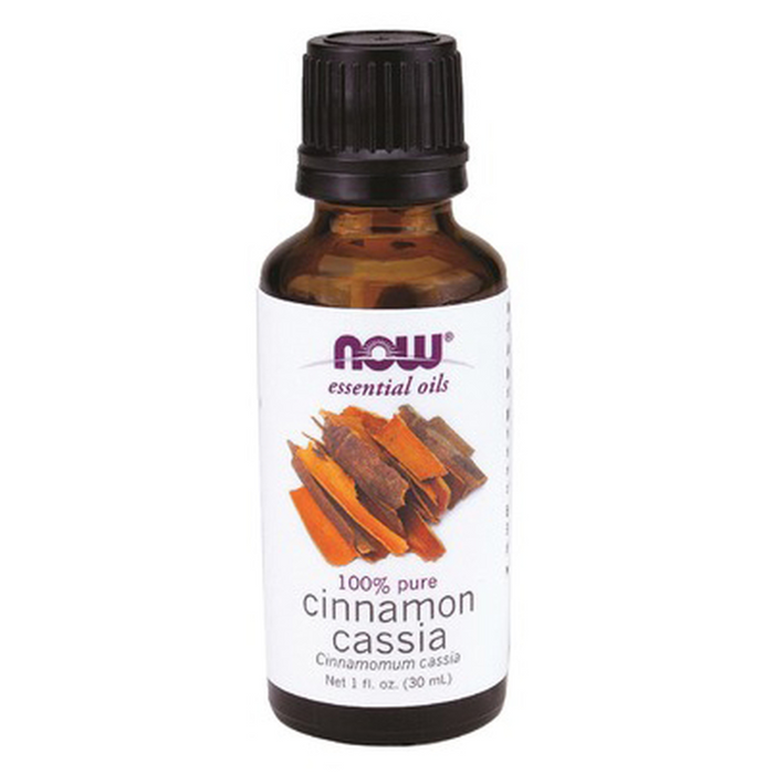 Cinnamon Cassia 100% Pure Essential Oil 30ml Now Foods