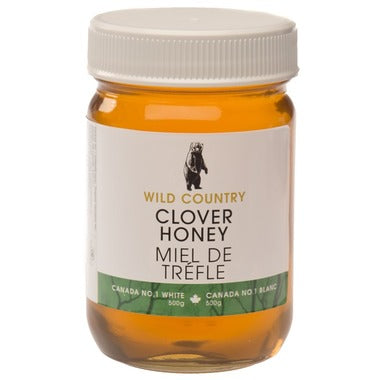 Clover Honey 500g Wild Country