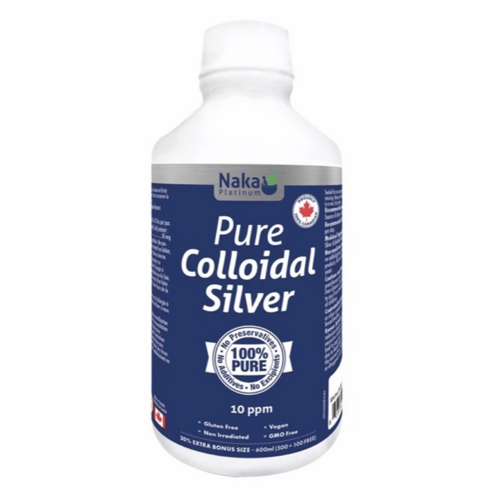 Pure Colloidal Silver 600ml Naka