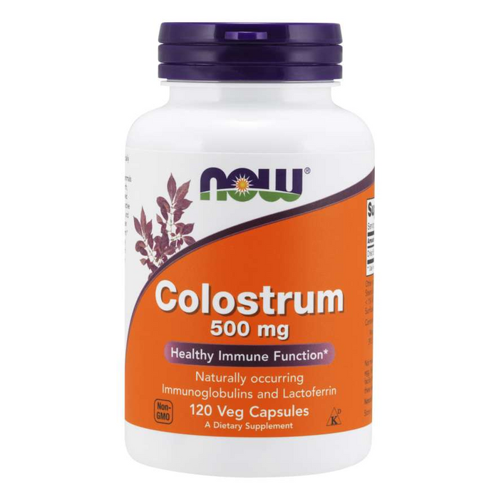Colostrum 500mg 120 Capsules Now Foods