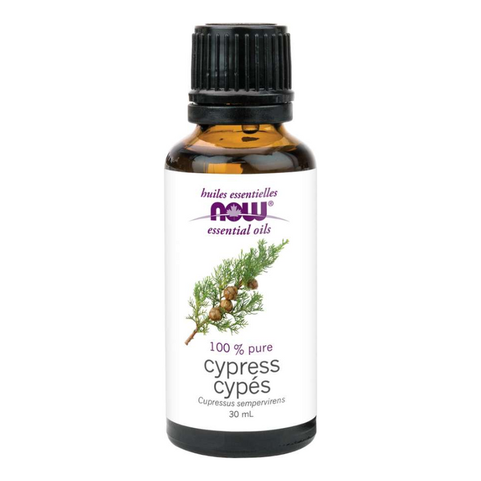 Cypress 100% Pure Essential Oil 30ml Now Foods