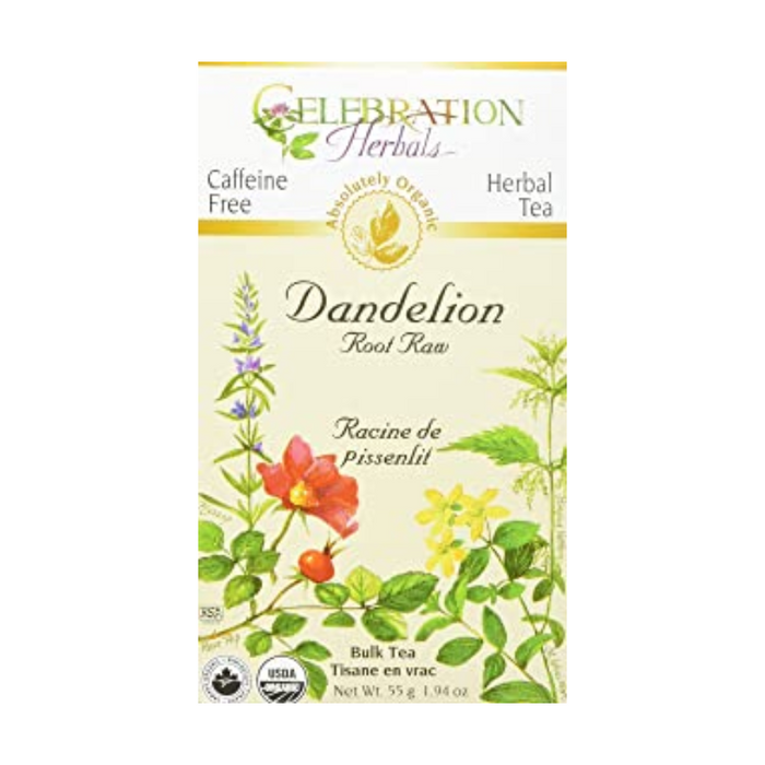 Dandelion Root Raw Herbal Tea Bulk Pack Celebration Herbals