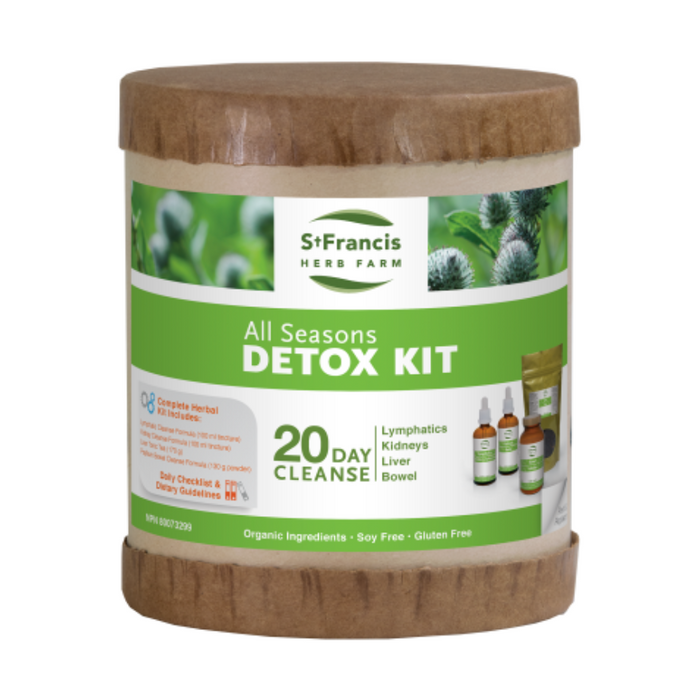 All Seasons Detox Kit 20 Day Cleanse St. Francis Herb Farms