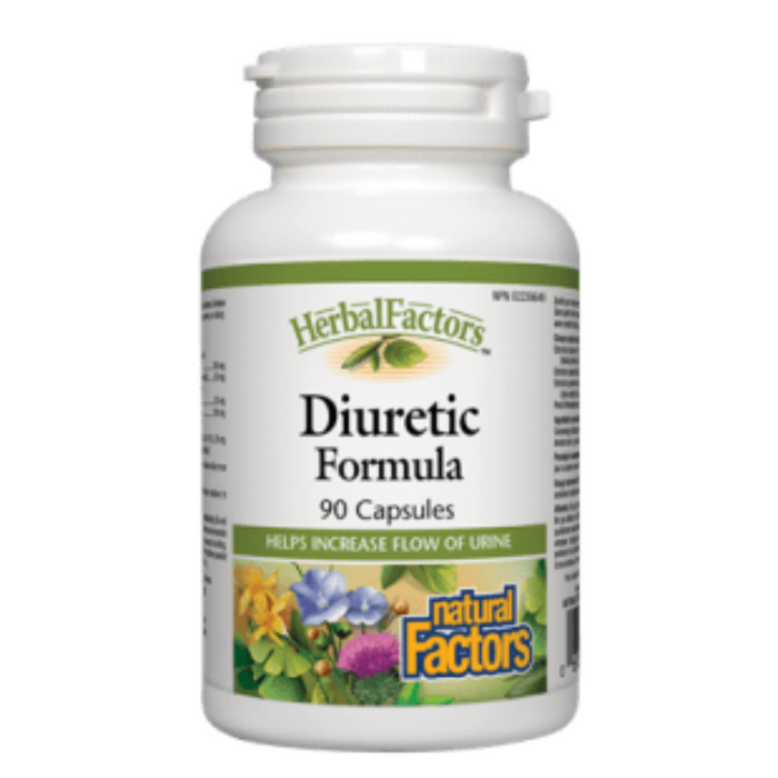 Herbal Factors Diuretic Formula 90 Capsules Natural Factors