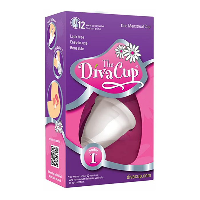 The Diva Cup Model 1 One Menstrual Cup