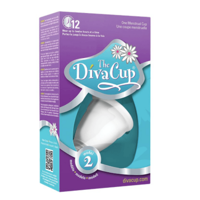 The Diva Cup Model 2 One Menstrual Cup