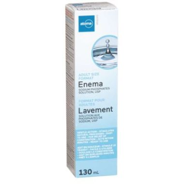 Atoma Enema Adult Size Sodium Phosphates Solution USP