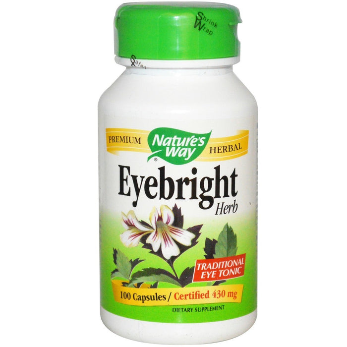 Eyebright Herb 430mg 100 Capsules Natue's Way
