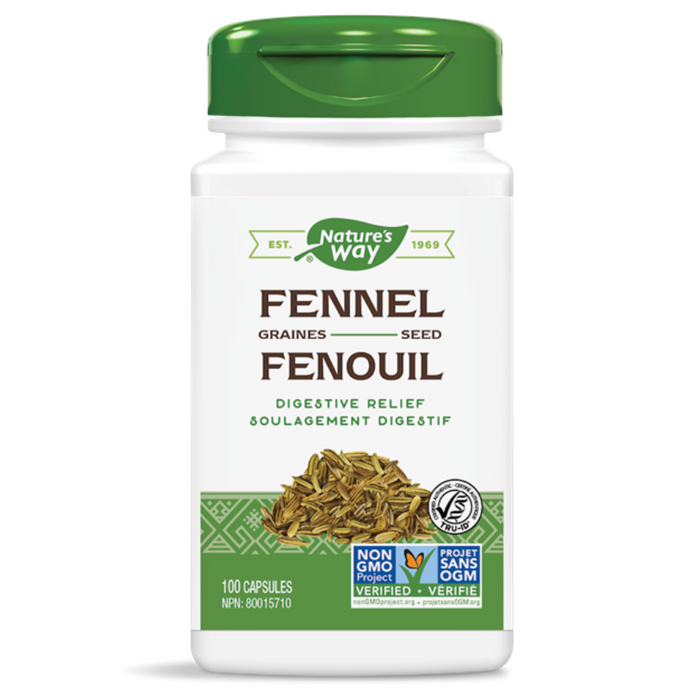 Fennel Seed 480mg 100 Capsules Nature's Way