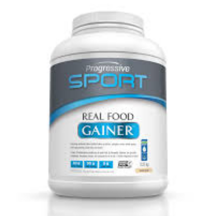 Real Food Gainer Mass Gainer Protein 2.27kg Progressive Sport