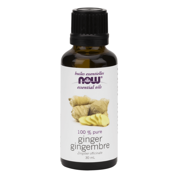 Ginger 100% Pure Essential Oil 30ml Now Foods