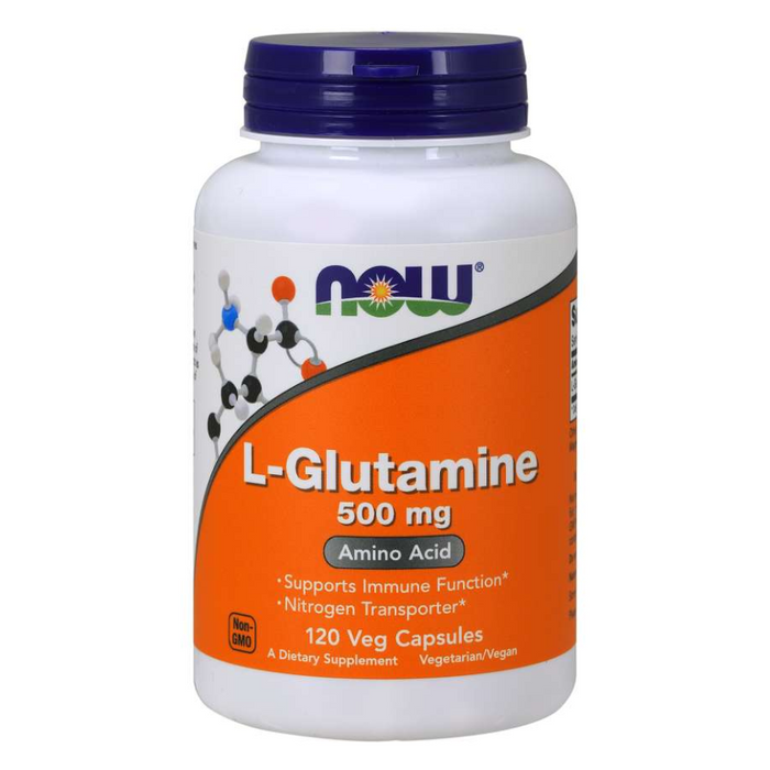L-Glutamine 500mg 120 Capsules Now Foods