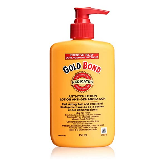 Gold Bond Intense Relief Medicated Anti-Itch Lotion 155ml