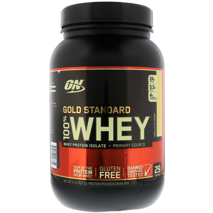 ON Gold Standard 100% Whey Protein Isolate 2lb