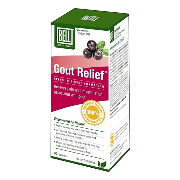 Gout Relief 60 Capsules Bell Lifestyle