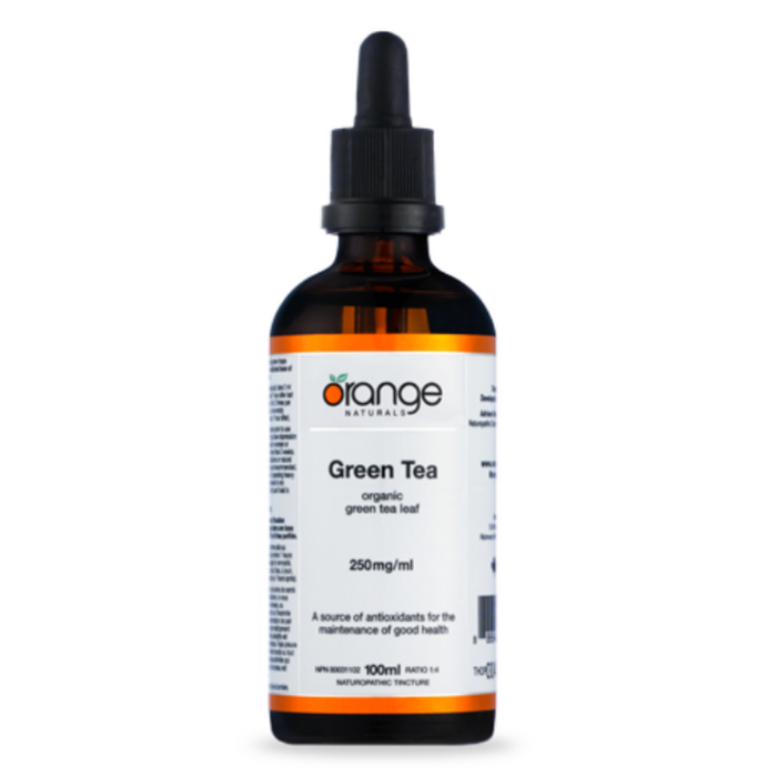 Green Tea Tincture 100ml Orange Naturals