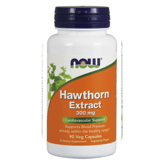 Hawthorn Extract 300mg 90 Capsules Now Foods