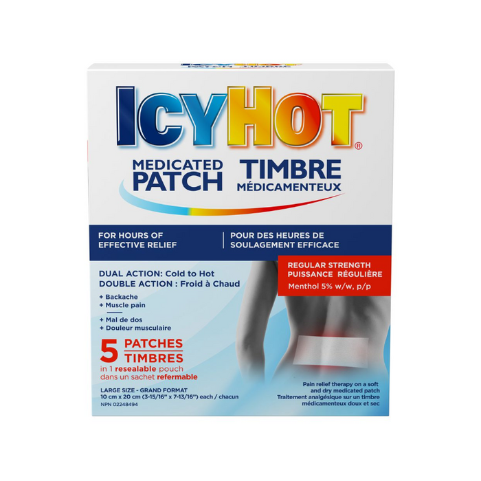 Icy Hot Medicated Patch 5 Patches