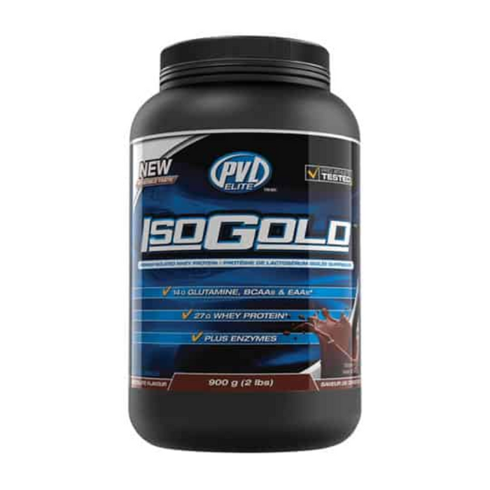 IsoGold Premium Isolated Whey Protein 2lb PVL