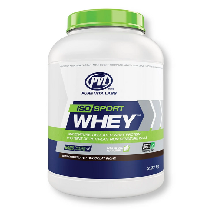 Iso Sport Whey Protein Isolate 2.27kg PVL