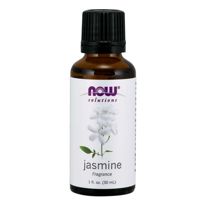 Jasmine Fragrance Essential Oil 30ml Now Foods