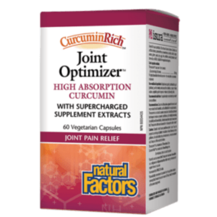 CurcuminRich Joint Optimizer Curcumin 60mg Natural Factors