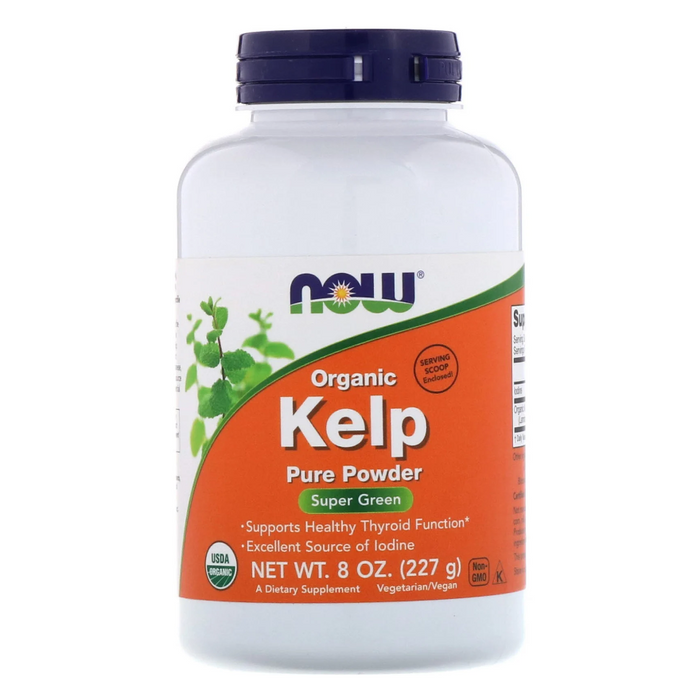 Organic Kelp Powder 227g Now Foods